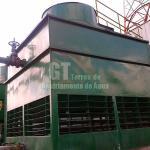 Manutenção em torres de resfriamento