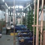Instalação de torres de resfriamento
